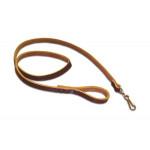 Ремень страховочный для пистолета кожаный коричневый