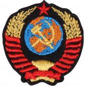 Термонаклейка -05292139 Герб СССР малый вышивка