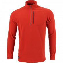 Пуловер Basis кирпичный