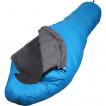 Спальный мешок пуховый Adventure Light синий 175x75x45