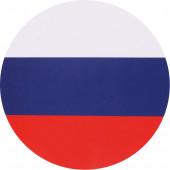 Наклейка 07н Россия триколор сувенирная