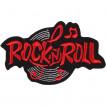 Термонаклейка -18272195 Rock-n-roll красный вышивка