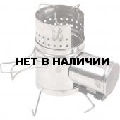 Турбопечка Щепочница 600