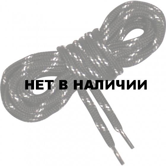 Шнурки светоотражающие Vitarelli черные дл.140см