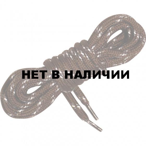 Шнурки светоотражающие Vitarelli коричневые дл.140см