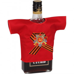 Рубашка-сувенир Орден Отечественной войны вышивка