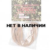 Шнурки (пара) кевлар. плетен. Спец L=200 см черные