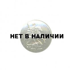 Пуговица диам. 22мм Герб Москвы металл
