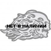 Термонаклейка -17491189 Несущийся череп вышивка