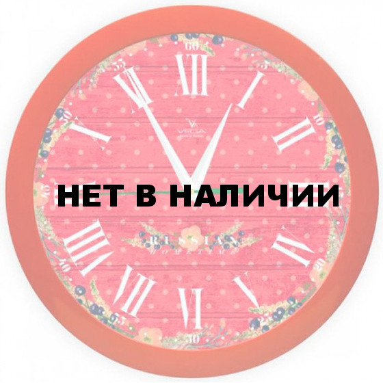 Настенные часы Вега П 1-1/7-286