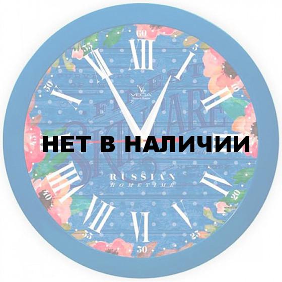 Настенные часы Вега П 1-10/7-287