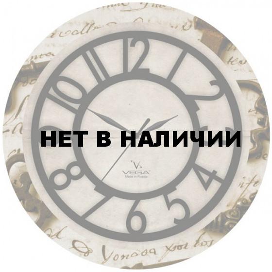Настенные часы Вега П 1-242/6-242