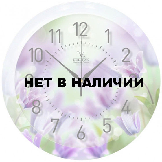 Настенные часы Вега П 1-248/7-248