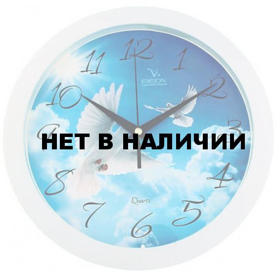 Настенные часы Вега П 1-7/7-188