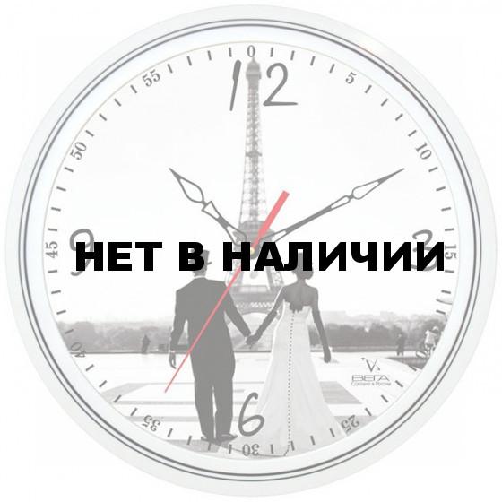 Настенные часы Вега П 1-763/7-130