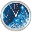 Настенные часы Вега П 1-серебро/7-231