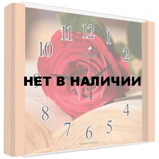 Настенные часы Олимп ЕА-008 Бук