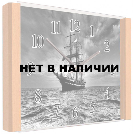Настенные часы Олимп ЕА-011 Бук