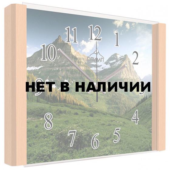 Настенные часы Олимп ЕА-012 Бук