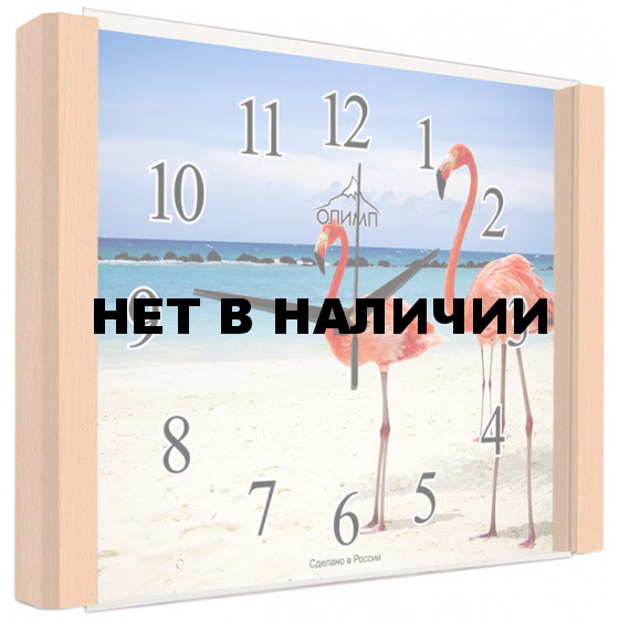 Настенные часы Олимп ЕА-014 Бук