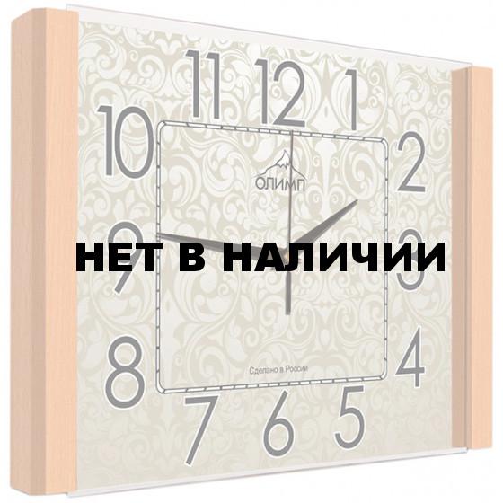 Настенные часы Олимп ЕА-017 Бук