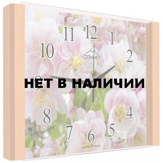 Настенные часы Олимп ЕА-023 Бук
