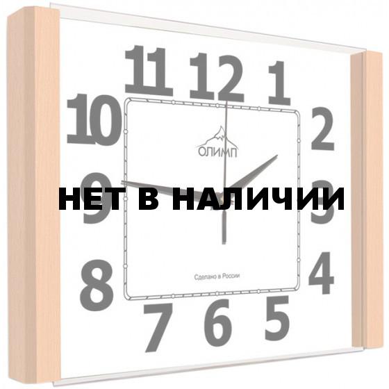 Настенные часы Олимп ЕА-030 Бук