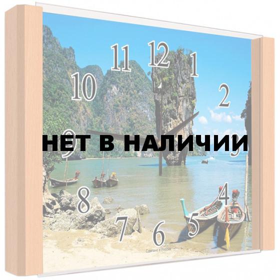 Настенные часы Олимп ЕБ-009 Бук