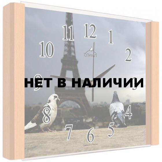 Настенные часы Олимп ЕБ-011 Бук