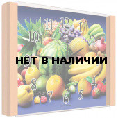 Настенные часы Олимп ЕБ-013 Бук