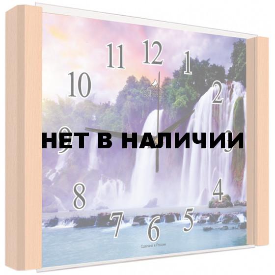 Настенные часы Олимп ЕБ-014 Бук