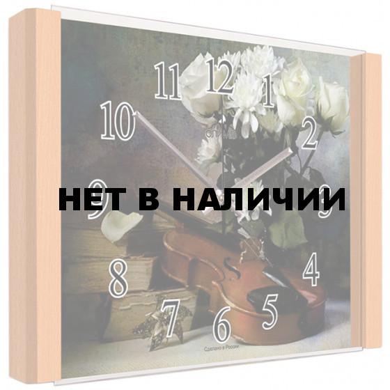 Настенные часы Олимп ЕБ-019 Бук