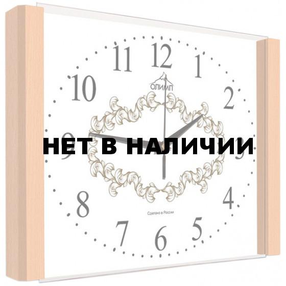 Настенные часы Олимп ЕБ-021 Бук