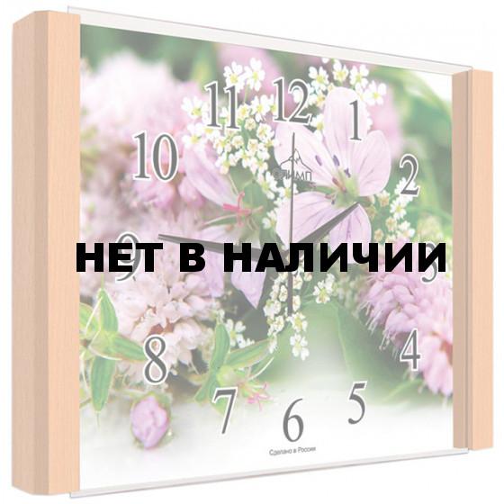 Настенные часы Олимп ЕБ-037 Бук