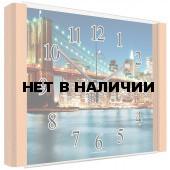 Настенные часы Олимп ЕБ-039 Бук