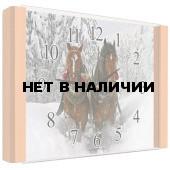 Настенные часы Олимп ЕВ-004 Бук