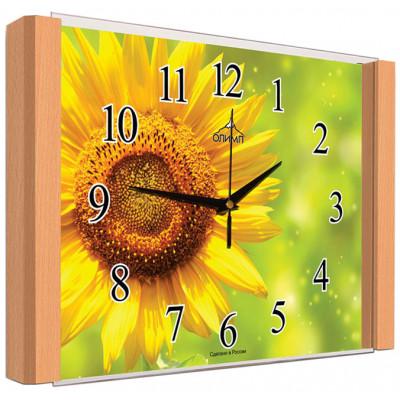 Настенные часы Олимп ЕВ-006 Бук