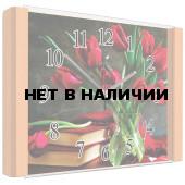 Настенные часы Олимп ЕВ-008 Бук