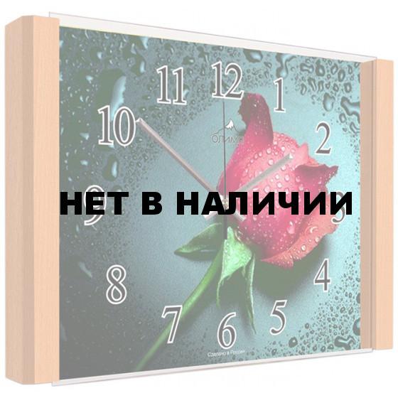 Настенные часы Олимп ЕВ-010 Бук