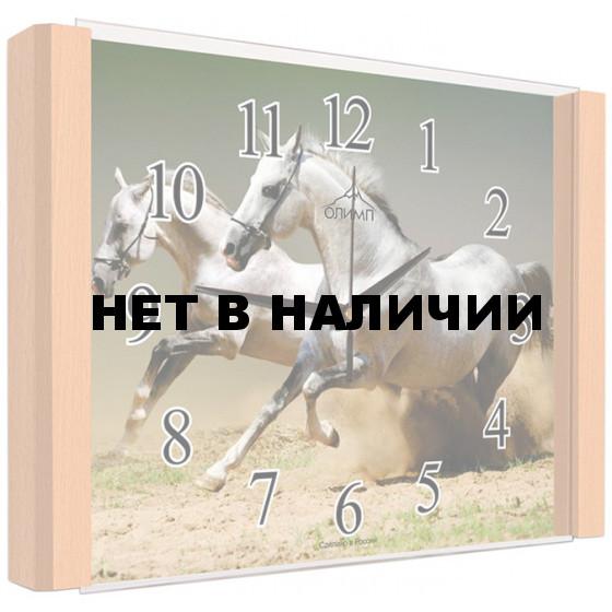 Настенные часы Олимп ЕВ-012 Бук