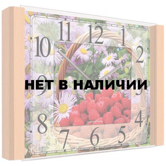 Настенные часы Олимп ЕВ-018 Бук