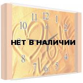 Настенные часы Олимп ЕВ-020 Бук