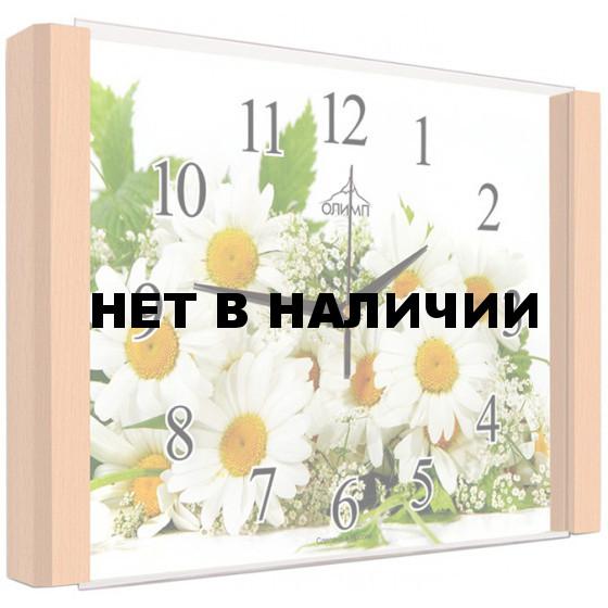 Настенные часы Олимп ЕВ-024 Бук