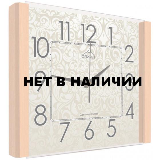 Настенные часы Олимп ЕГ-002 Бук