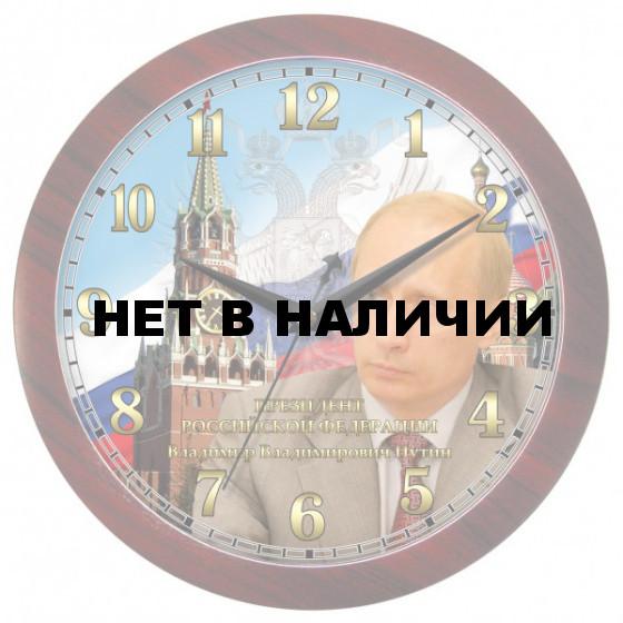 Настенные часы Камелия 0008053 Путин круг 1