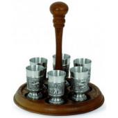 Стопки для водки 6 шт на подставке Artina SKS 12452