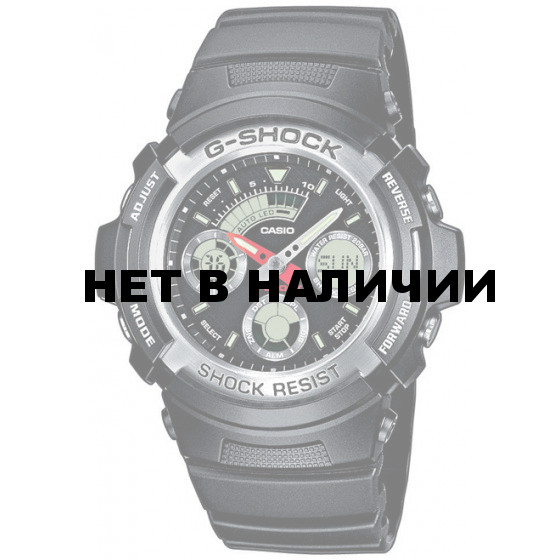Мужские наручные часы Casio AW-590-1A (G-Shock)