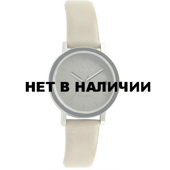 Женские наручные часы Romanson DL 9782S LW(GR)