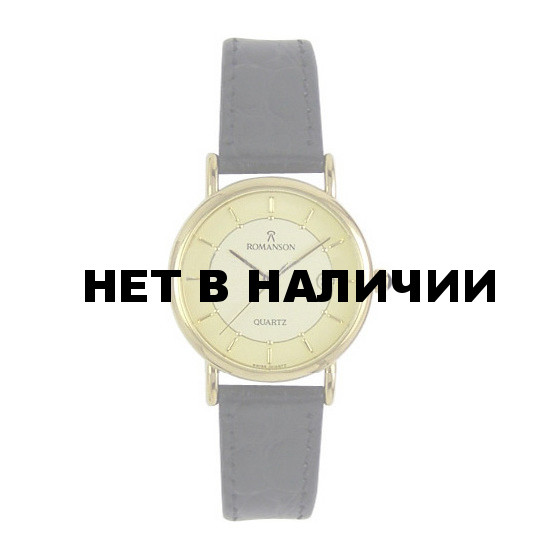 Женские наручные часы Romanson NL 1120S LG(GD)