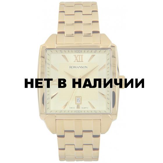 Мужские наручные часы Romanson TM 9216 MG(GD)